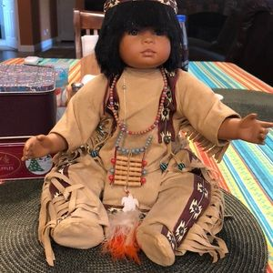 "Other - MARIE OSMOND 2000 -16""  ""MATO""  INDIAN DOLL-"